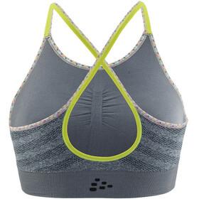 Craft Comfort Low Impact Bra Women grey melange